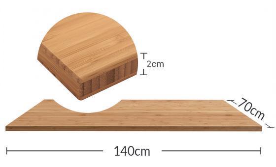 FLEXISPOT竹板天板