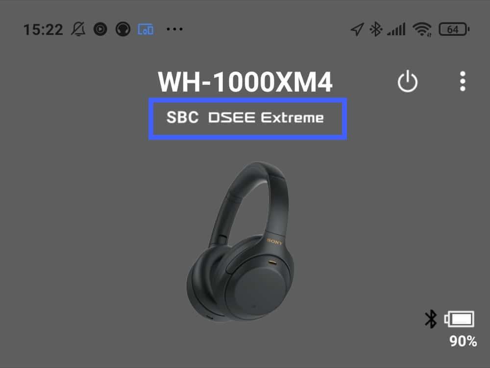 WH-1000XM4 SBC接続