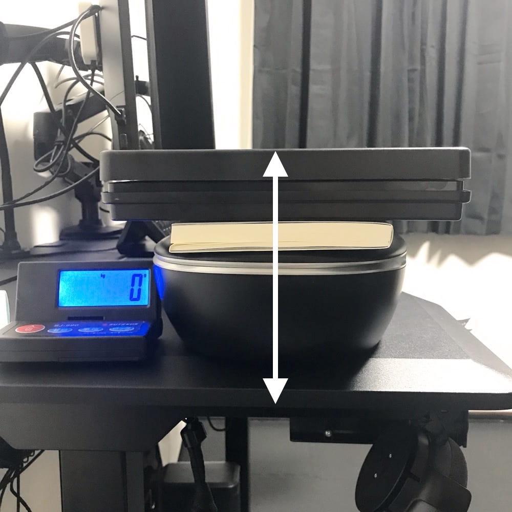 ヘッドホンの側圧測定