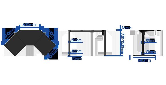 FLEXISPOT EG1-Lサイズ