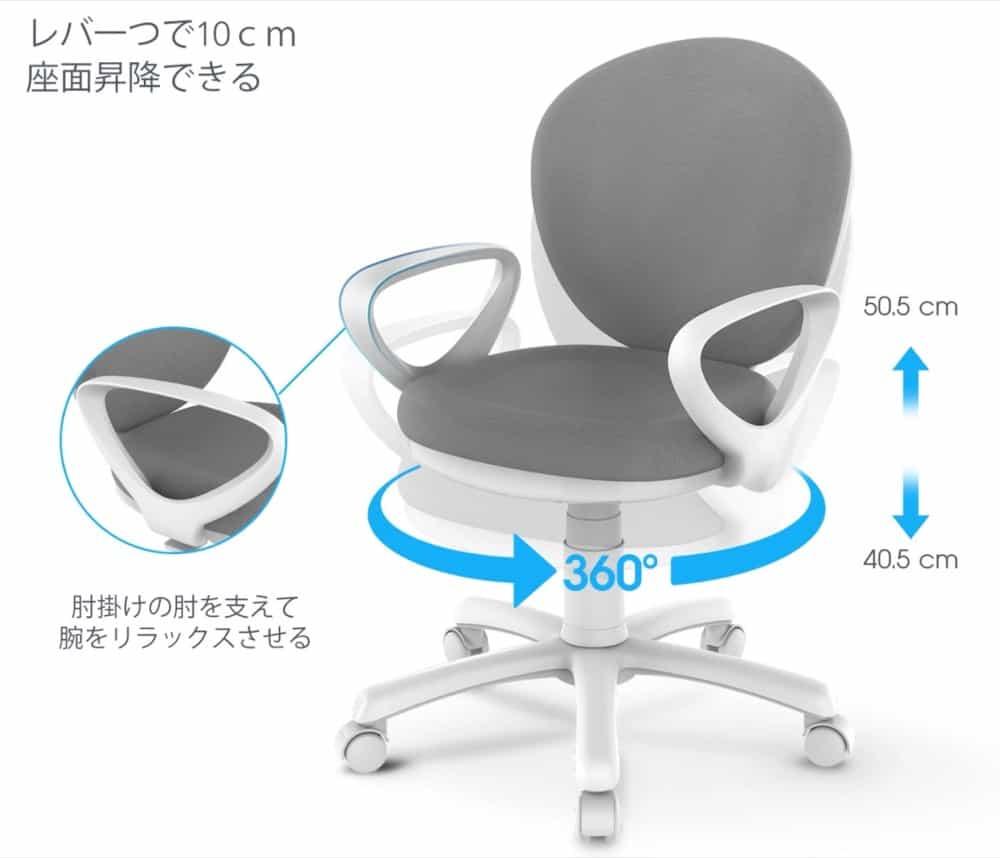 FLEXISPOT sc02gデザイン